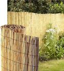 Pack of 4 Reed Fence Screening Outdoor Garden Border Panel 1M / 1.5M Tall x 4M