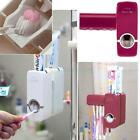 Touch Me Auto Toothpaste Dispenser Squeezer Brush Holder Hole Set Wall Mounted