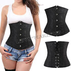 Special Black Lace up Tummy Girdle Belt Body Waist Training Control Corset Top