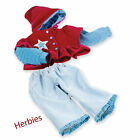 Lee Middleton Small Star Outfit,  Fits Nursery, Cuddle Babies & 19-inch Dolls