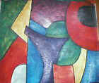 ABSTRACT ART 30 IMAGES 2 CHOOSE FROM 3 OIL PAINTING ROLLED OR STRETCHED 20X24""