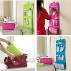 Womens Ladies Mens Wash Bag Travel Toilet Hanging Toiletries Makeup Bag Folding