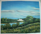 COUNTRY ART 30 IMAGES 2 CHOOSE FROM 3 OIL PAINTING ROLLED OR STRETCHED 20X24
