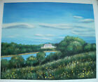 COUNTRY ART 30 IMAGES 2 CHOOSE FROM 3 OIL PAINTING ROLLED OR STRETCHED 20X24""