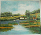 """COUNTRY OIL PAINTING ART ROLLED OR STRETCHED 20X24"""" 30 DIFFERENT REF5"""