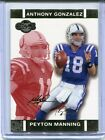 2007 Topps Co-Signers Peyton Mannning Red/Gold 167/399 #1 NM Condition