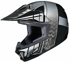 HJC 2015 YOUTH Cross Up CL-XY II Motocross Helmet Black/Silver SM-XL