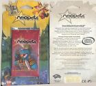 Neopets Original Base Set 8 Card Booster Pack Virtual Prize Code Inside! {NEW