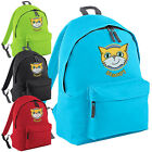 Stampy Backpack - Mr Kids Cat Face Gamers Inspired Rucksack School College Bag