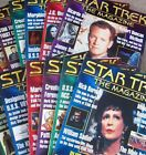 Star Trek The Magazine #13 thru #24  published 2000 - 2001 sold  individually on eBay