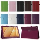 Folding Magnetic Leather Lichi Case Cover Skin Stand For ASUS ZenPad 10 Z300C