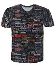 Heavy Metal Band Logos Collage T-shirt # A079