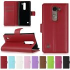 Magnetic Stand Wallet Flip Leather Card Protective Hard Case Cover For LG Phone