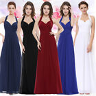 Ever Pretty Women's Sexy Halter Long Evening Party Formal Prom Dress 08487
