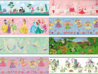 Girls Character Prepasted Wall borders - Kids Childrens Bedroom Decor Paper Roll