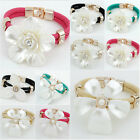 New Fashion Women Bracelet Rhinestone Crystal Bangle Charm Cuff Jewelry