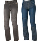 HELD FAME Mens Denim Jeans Pants Biker Trousers 100% cotton Black Blue
