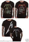 OFFICIAL Metallica Vintage Justice For All or Damaged Justice T Shirt NEW Black