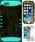 Dry Leaves Camo w/ Glow in the Dark Impact Cover Case for iPhone 6 ( 4.7 inch )