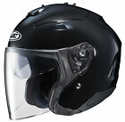 HJC 2015 Adult IS-33 II Black Street Motorcycle Helmet Black XS-2XL