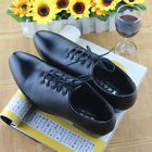 Mens Oxford Stylish Business Formal Lace up Breathable Pointy Toe Dress Shoes