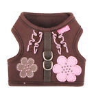 Any Size - Pinkaholic - Choco Mousee - Dog Puppy Soft Harness - Brown