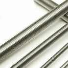 METRIC MILD STEEL (4.8) ZINC PLATED THREADED BAR M3 TO M39  IN 1M LENGTHS