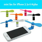 Cool Mini Portable 8pin Cooling Fan Cooler For iPhone 5 5S 5C 6 6S 7 Plus