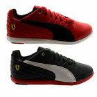 Puma Pedale SF Mens Red Black Synthetic Lace up Trainers 305150 01/03 - D3