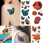 DIY 3D Woman Waterproof Colorful Removable Temporary Tattoo Sticker Halloween
