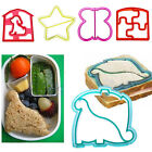 Sandwich Cake Toast Bread Cutter Mold Dog Elephant Dinosaur Shape Mould Maker