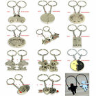 BKEM0007 MANY CUTE STYLES TWISTED STEEL CABLE / MAGNETIC KEY RING CHAIN KEYCHAIN