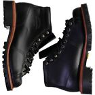 """CHIPPEWA 5"""" LACE TO TOE FIELD BOOTS BLACK WHIRLWIND NEW IN BOX"""