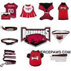 Arkansas Razorbacks NCAA Football Dog Pets First Licensed Team Pet Costume Gear
