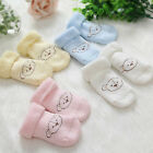 Chic Baby Newborn Socks Warm Winter For 0 - 12 Month Old Baby Soft Welt Fashion