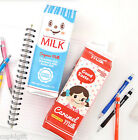Milk Pack Pencil Case Pen Pouch Holder Storage Organizer Cute Bag Pencase Box