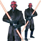 CL530 Mens Deluxe Darth Maul Star Wars Day Sith Lord Party Outfit & Mask Costume
