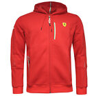 Puma SF Ferrari 10th Anniversary Hooded Mens Zipped Sweat Jacket (761724 02 U99)