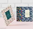 2016 Flowery Monthly Journal Diary Planner Scheduler Agenda Notebook Organizer