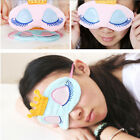 Crown Eye Mask Shade Cover Rest Eyepatch Blindfold Shield Travel Sleep Aid Chic