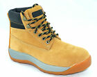 NEW MENS BLACKROCK LEATHER SAFETY WORK BOOTS STEEL TOE CAP ANKLE HIKER SHOES