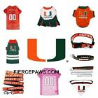 Miami Hurricanes NCAA Football Dog Pets First Licensed Team Dog Costume Apparel
