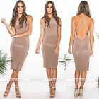 Women Summer Sexy  Party Cocktail Evening Bandage Bodycon Pencil Dress New