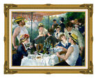 Framed The Luncheon of the Boating Party Pierre Auguste Renoir Repro Art Print