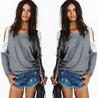 Women's Loose Casual  Long Sleeve Blouse Shirt Tops Blouse Cocktial Fashion Hot