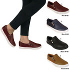 LADIES SKATER SHOES FLAT SLIP ON WOMENS PLIMSOLLS SNEAKERS TRAINERS PUMPS LOAFER