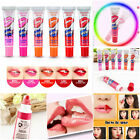 Hot Lady Waterproof Lip Gloss TATTOO Megic Color Peel Mask Tint Pack LongLasting