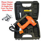 TACWISE Master Nailer 71ELS Electric Upholstery Stapler Gun Or 71 Series Staples