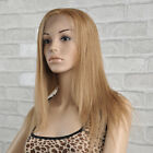 "Top Quality Silk Straight Lace Front Wigs 100% Remy Indian Human Hair 8""-24"""