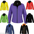 Result Core Ladies Soft Shell Jacket - S to XXL - RS231F - 7 GREAT COLOURS